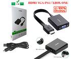 Кабель-переходник HDMI TO VGA + аудио выход + доп питание (Ugreen) Оригинал