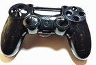 Корпус джойстика PS4 Dualshock 4 JDM-001 (Чёрный) (Премиум)