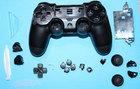 Корпус джойстика PS4 Dualshock 4 JDM-030 в сборе (Чёрный) (Оригинал)