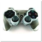 PS3 силиконовый чехол для джойстика (Камуфляж)(Grey-brown)