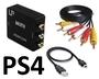PS4 переходник HDMI в AV тюльпаны 3RCA - композитный выход (Сертифицированный)