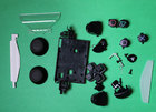 Полный набор кнопок для джойстика PS4 JDM-030 Dualshock 4
