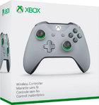 Беспроводной геймпад Xbox One Grey/Green (Оригинал)