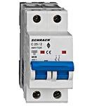 Автоматический выключатель 6кА 2P 25А х-ка C Schrack Technik