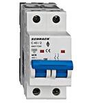Автоматический выключатель 6кА 2P 40А х-ка C Schrack Technik