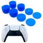 Силиконовые накладки для геймпада PS5 Dualsense комплект 8 шт. синего цвета
