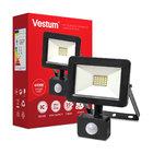 Прожектор LED Vestum с датчиком движения 20W 2 000Лм 6500K 175-250V IP65