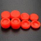 PS4 силиконовые накладки высокие профессиональные полный набор 8 in 1 красные