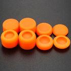 PS4 силиконовые накладки высокие профессиональные полный набор 8 in 1 оранжевые