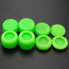 PS4 силиконовые накладки высокие профессиональные полный набор 8 in 1 зеленые