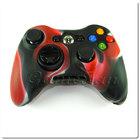 Xbox 360 силиконовый чехол для джойстика (камуфляж)(Red-black)