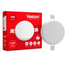 Светильник LED врезной без рамки круглый Vestum 9W 4100K 220V
