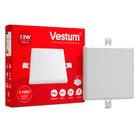 Светильник LED врезной без рамки квадратный Vestum 12W 4100K 220V